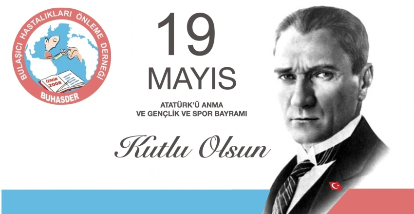 Happy May 19, Commemoration of Atatürk, Youth and Sports Day.