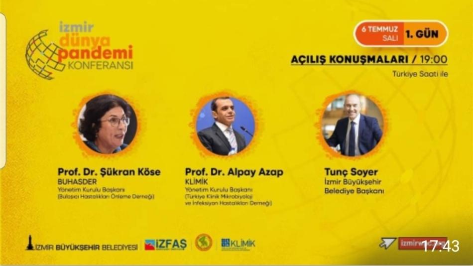 Dünya Pandemi Konferansı (06-07 Temmuz 2021 İzmir)
